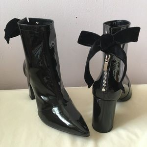Robert Clergerie Self-Portrait Black Ankle Boots